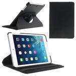 PU kožené 360 °  pouzdro pro iPad mini-černé - 1/7