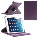 PU kožené 360 °  pouzdro pro iPad mini- fialové - 1/7