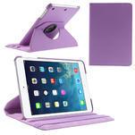 PU kožené 360 °  pouzdro pro iPad mini- světlefialové - 1/7