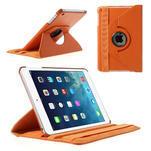 PU kožené 360 °  pouzdro pro iPad mini- oranžové - 1/7