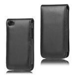 Flipové pouzdro na iPod Touch 4 - černé - 1/3