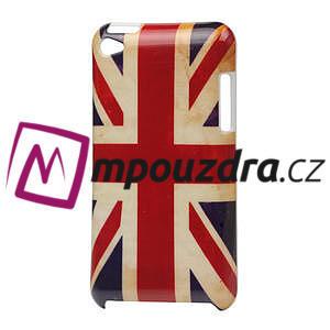 Plastové pouzdro na iPod Touch 4 - UK vlajka - 1