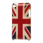 Plastové pouzdro na iPod Touch 4 - UK vlajka - 1/3