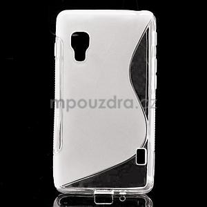 Gelové S-line  pouzdro pro LG Optimus L5 II E460- transparentní - 1