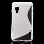 Gelové S-line  pouzdro pro LG Optimus L5 II E460- transparentní - 1/5