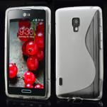 Gelové S-line pouzdro pro LG Optimus L7 II P710- šedé - 1/4