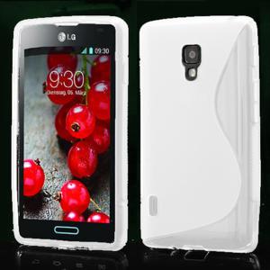 Gelové S-line pouzdro pro LG Optimus L7 II P710- bílé