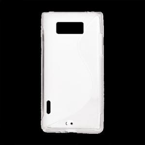 Gelové S-line pouzdro pro LG Optimus L7 P700- bílé