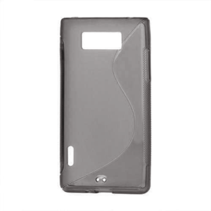 Gelové S-line pouzdro pro LG Optimus L7 P700- černé