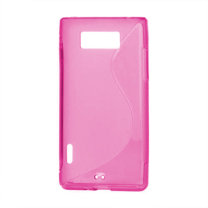 Gelové S-line pouzdro pro LG Optimus L7 P700- růžové