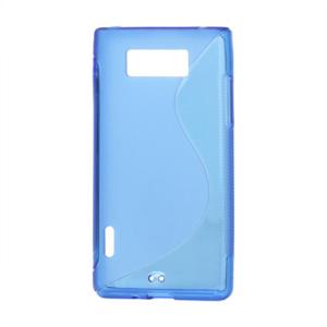Gelové S-line pouzdro pro LG Optimus L7 P700- modré