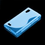 Gelové S-line pouzdro pro LG Optimus L9 P760- modré - 1/2