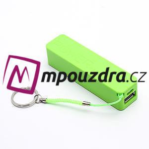 2600mAh externí baterie Power Bank - zelená - 1
