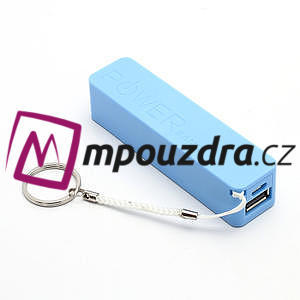 2600mAh externí baterie Power Bank - modrá - 1