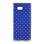 Drahokamové pouzdro pro HTC Desire 600- modré - 1/5