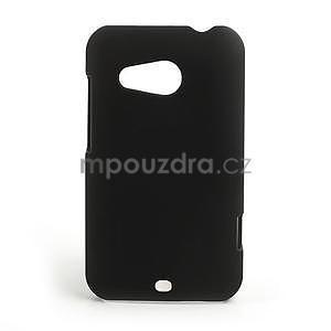Pogumované pouzdro pro HTC Desire 200- černé - 1