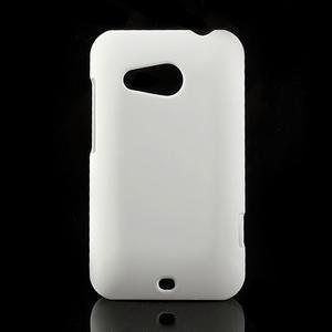 Pogumované pouzdro pro HTC Desire 200- bílé - 1