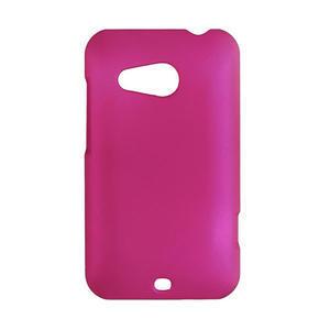 Pogumované pouzdro pro HTC Desire 200- růžové - 1