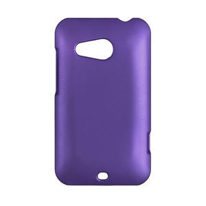 Pogumované pouzdro pro HTC Desire 200-fialové - 1
