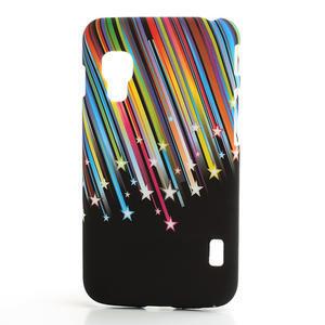 Plastové pouzdro pro LG Optimus L5 Dual E455- meteor barevný - 1