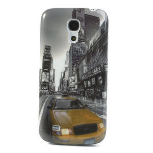 Plastové pouzdro na Samsung Galaxy S4 mini i9190- auto-street - 1