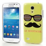 Plastové pouzdro na Samsung Galaxy S4 mini i9190- Le moustache - 1/6