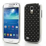 Drahokamové pouzdro pro Samsung Galaxy S4 mini i9190- černé - 1/6