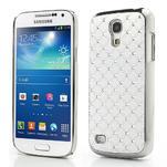 Drahokamové pouzdro pro Samsung Galaxy S4 mini i9190- bílé - 1/6