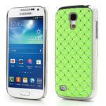 Drahokamové pouzdro pro Samsung Galaxy S4 mini i9190- zelené - 1/5