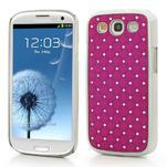 Drahokamové pouzdro pro Samsung Galaxy S3 i9300 - řůžové - 1/5