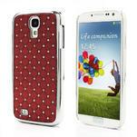 Drahokamové pouzdro pro Samsung Galaxy S4 i9500- červené - 1/7