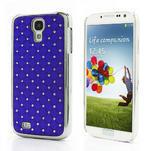 Drahokamové pouzdro pro Samsung Galaxy S4 i9500- modré - 1/7