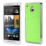 Drahokamové pouzdro pro HTC one Mini M4- zelené - 1/5