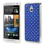 Drahokamové pouzdro pro HTC one Mini M4- modré - 1/5