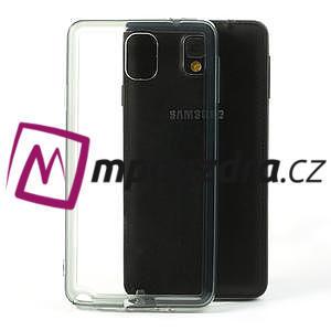 Gelové hybrid pouzdro na Samsung Galaxy Note 3- šedé - 1