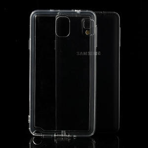 Gelové hybrid pouzdro na Samsung Galaxy Note 3- transparentní - 1
