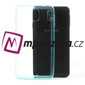 Gelové hybrid pouzdro na Samsung Galaxy Note 3- světlemodré - 1