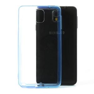 Gelové hybrid pouzdro na Samsung Galaxy Note 3- modré - 1