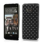 Drahokamové pouzdro pro HTC one M7- černé - 1/7