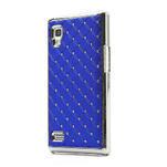 Drahokamové pouzdro pro LG Optimus L9 P760- modré - 1/7