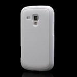 Plastogelové pouzdro na Samsung Galaxy Trend, Duos- bílé - 1/5