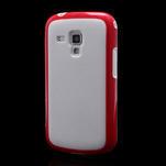 Plastogelové pouzdro na Samsung Galaxy Trend, Duos- červené - 1/5