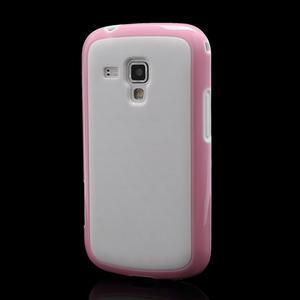 Plastogelové pouzdro na Samsung Galaxy Trend, Duos- růžové - 1