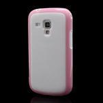 Plastogelové pouzdro na Samsung Galaxy Trend, Duos- růžové - 1/5