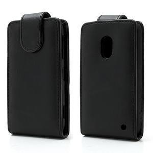 Flipové pouzdro na Nokia Lumia 620- černé - 1