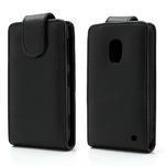 Flipové pouzdro na Nokia Lumia 620- černé - 1/6