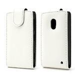 Flipové pouzdro na Nokia Lumia 620- bílé - 1/5