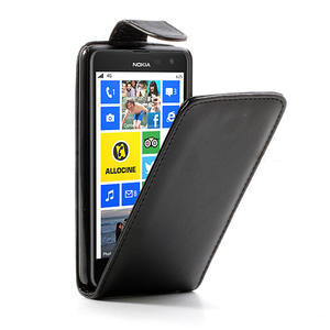 Flipové pouzdro pro Nokia Lumia 625- černé - 1