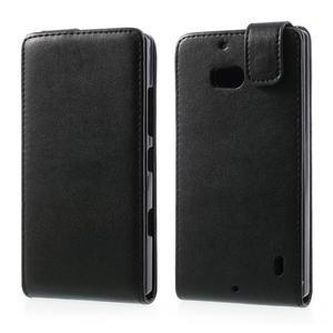 Flipové pouzdro na Nokia Lumia 929/930 - černé - 1