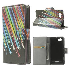 Peněženkové pouzdro na Sony Xperia L C2105 - meteor - 1